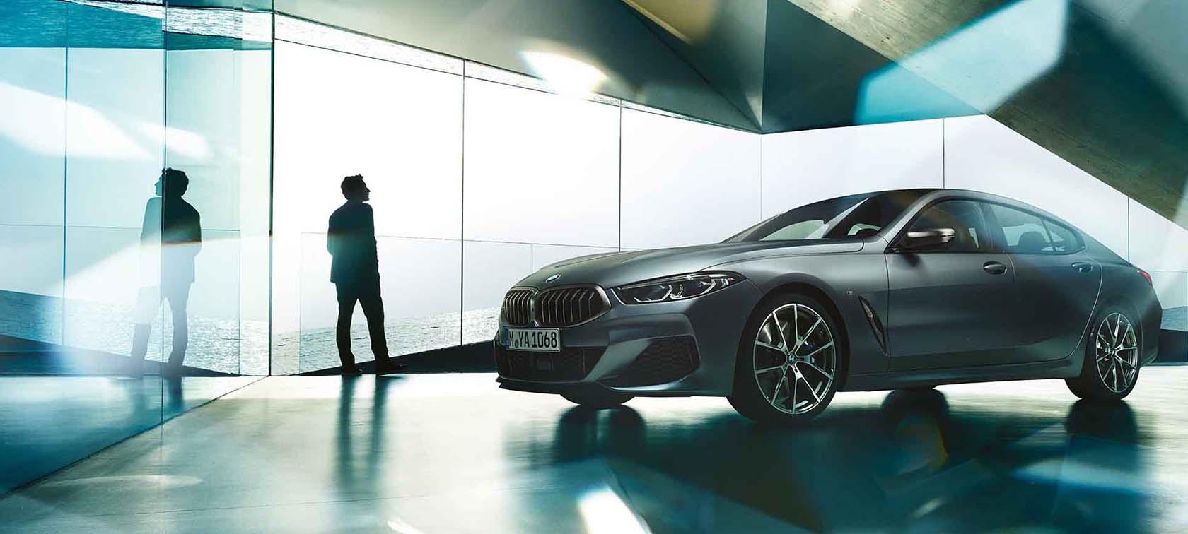 THE BMW 8 Series GRAN COUPÉ